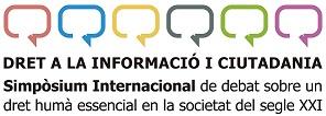 Simposi sobre dret de la informació Logo
