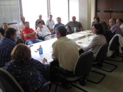 Reunió del comitè intercentres d'EFE
