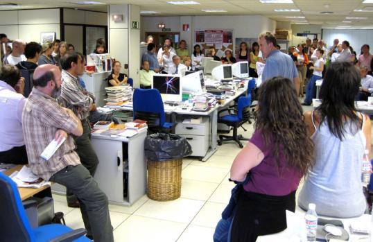 Asamblea Grup Zeta de Madrid / Foto: A. Peiró