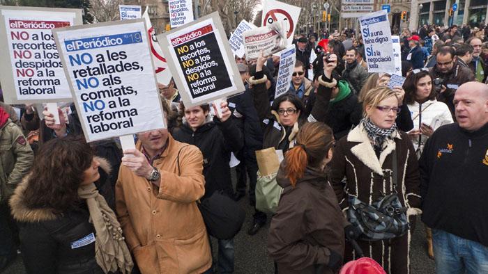 Treballadors_dEl_Periodico_a_la_manifestaco_contra_la_reforma_laboral