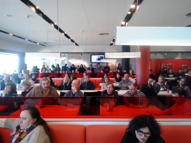 Assemblea de treballadors de TV3 del 3 de març