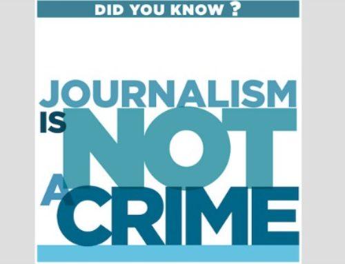 """Manifiesto """"Sin periodismo no hay democracia"""", de rechazo a las agresiones a profesionales de la información"""
