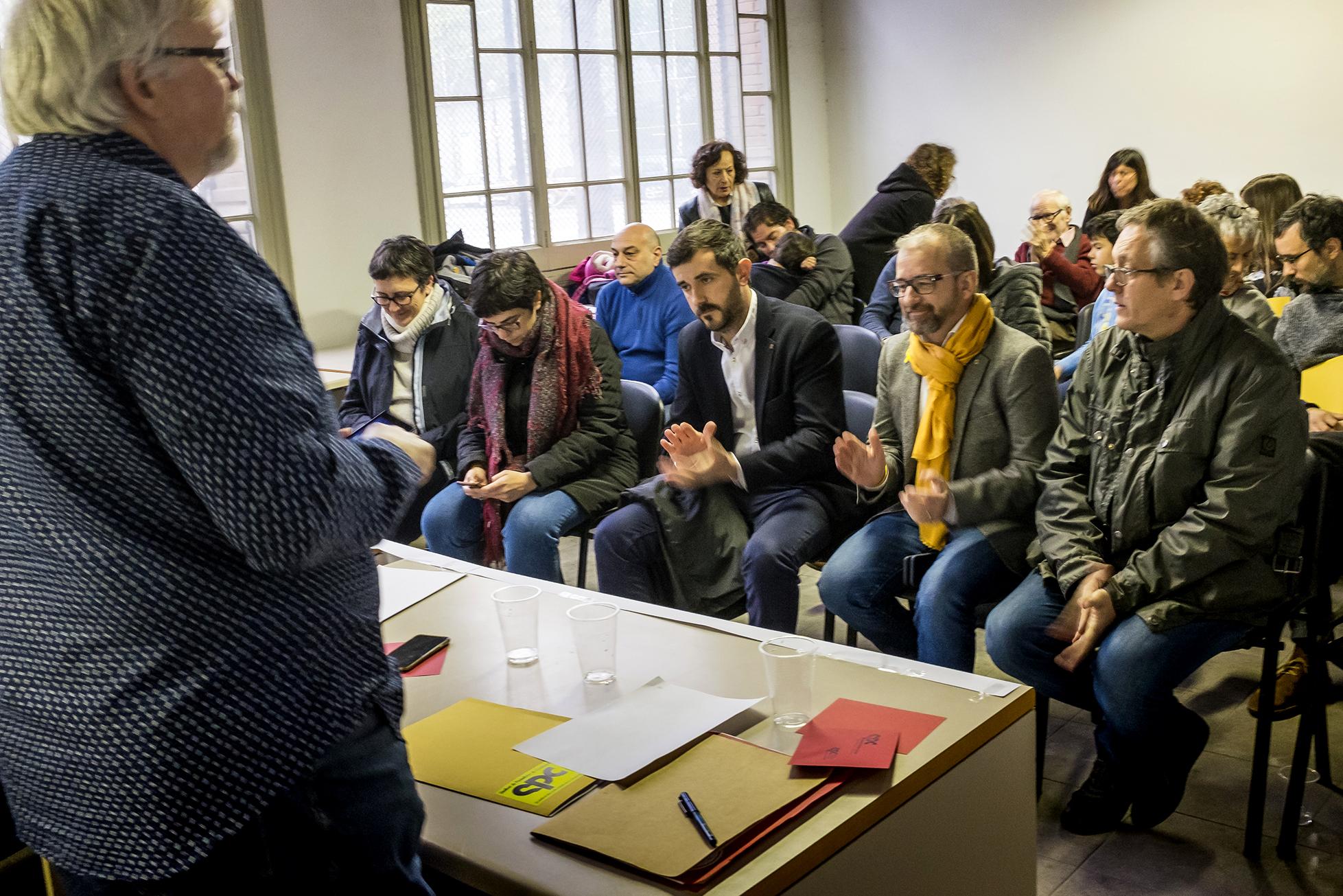 VIII Congrés SPC 2018 - Debats 2 - Foto: Joan Puig - Sindicat de Periodistes de Catalunya - Sindicat de Professionals de la Comunicació