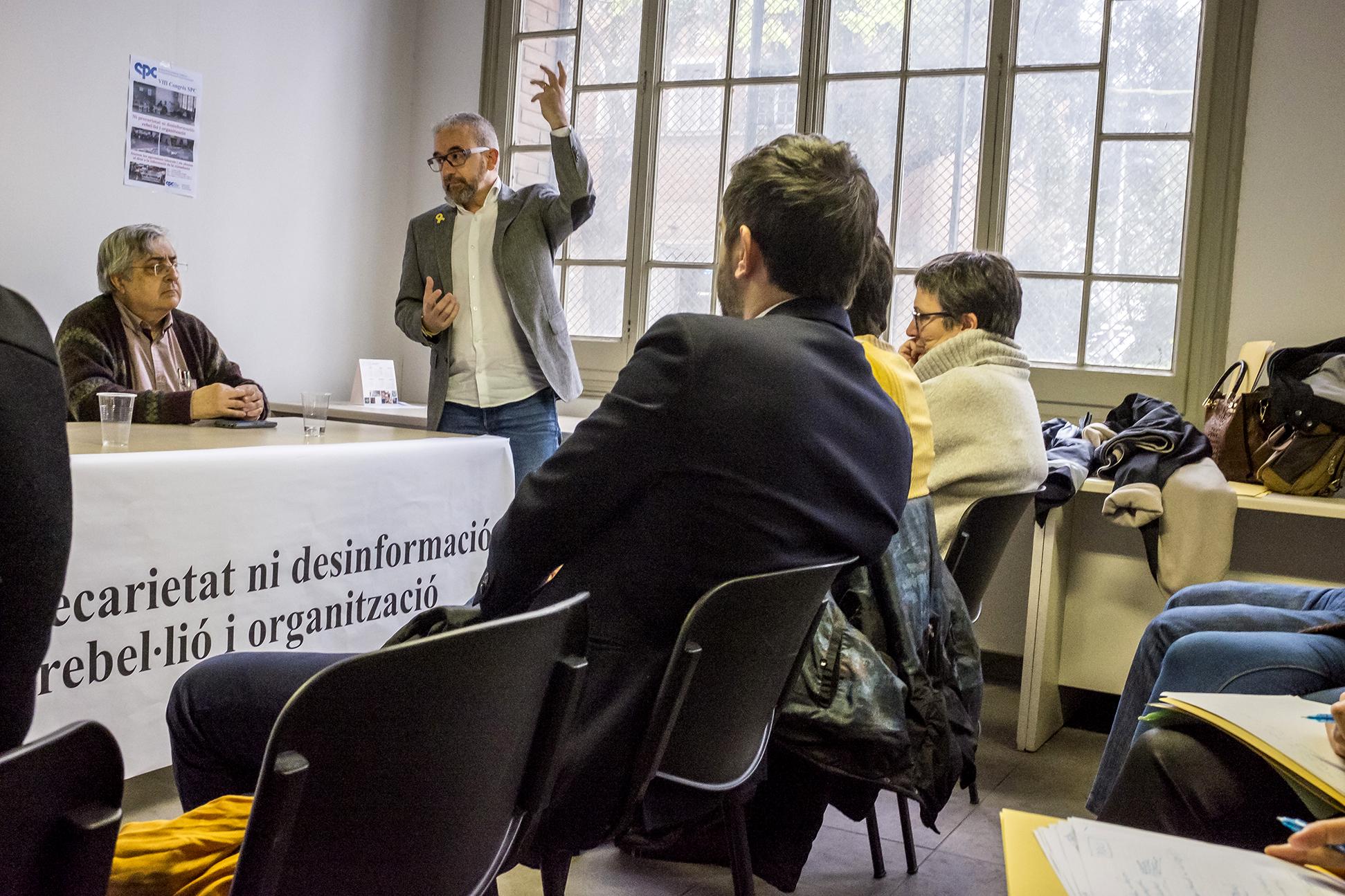 VIII Congrés SPC 2018 - Debats - Foto: Joan Puig - Sindicat de Periodistes de Catalunya - Sindicat de Professionals de la Comunicació