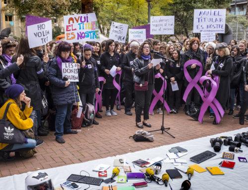 8M: Per la igualtat real i contra el sexisme en les informacions