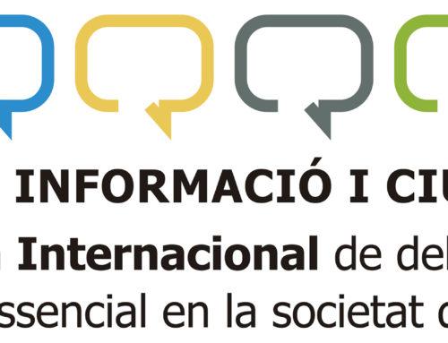 Dret a la informació i Ciutadania, un binomi imprescindible en democràcia