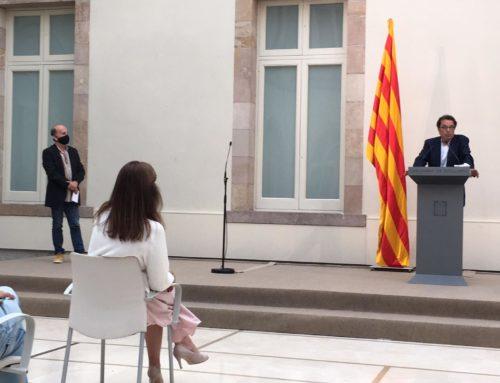 Joan Roura rep el 'Premi Solidaritat' que atorga l'IDHC, en la menció per a professionals de la informació