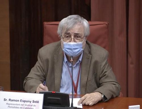 El SPC defiende en el Parlament la renovación de la dirección de la CCMA