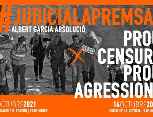 Mobilización contra las agresiones policiales a la labor periodística